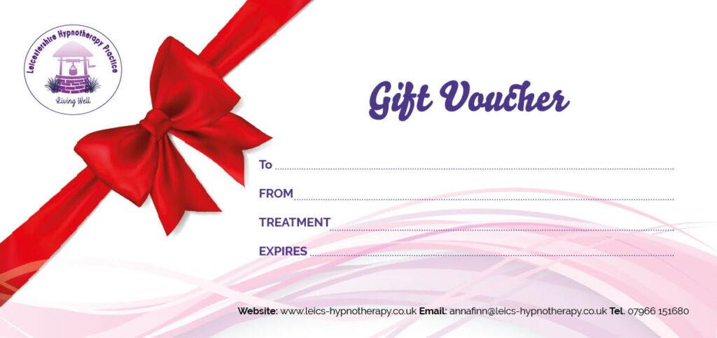 Business gift voucher.