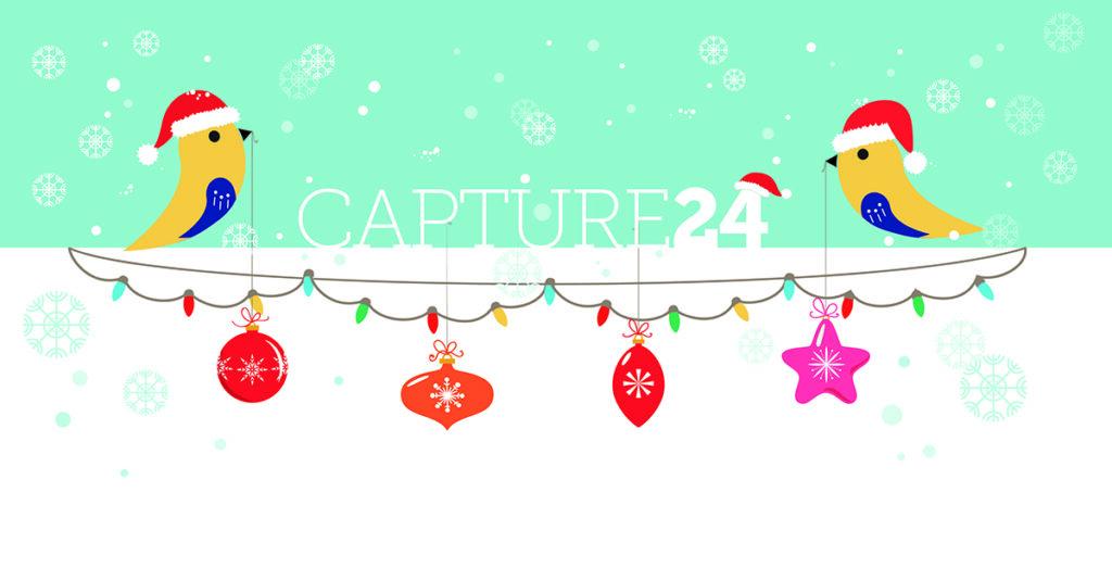 Capture 24 xmas Business Card