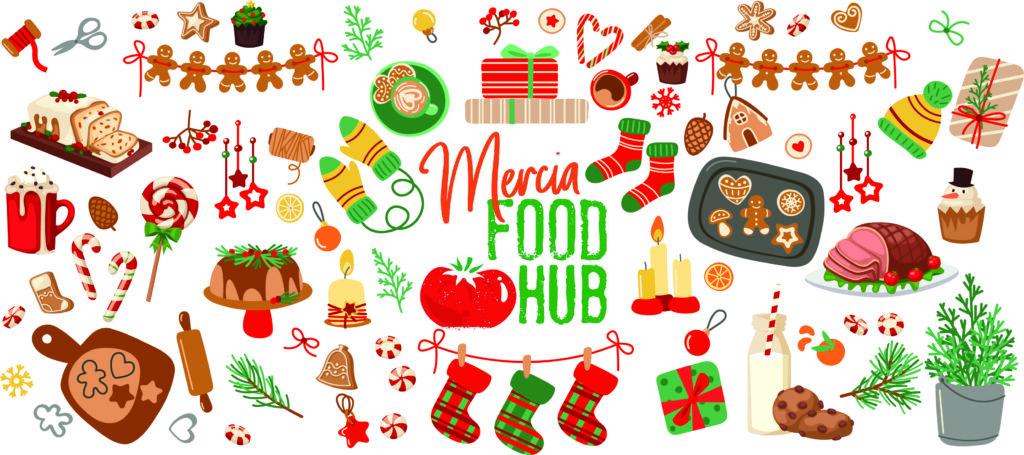 Mercia Food Hub facebook cover image.