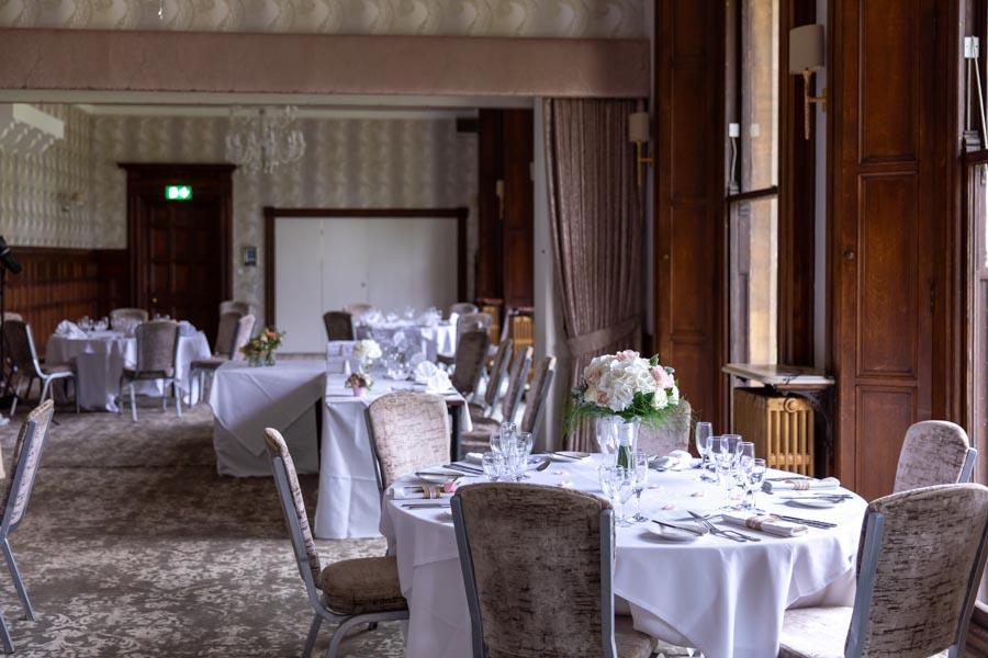 wedding venue room